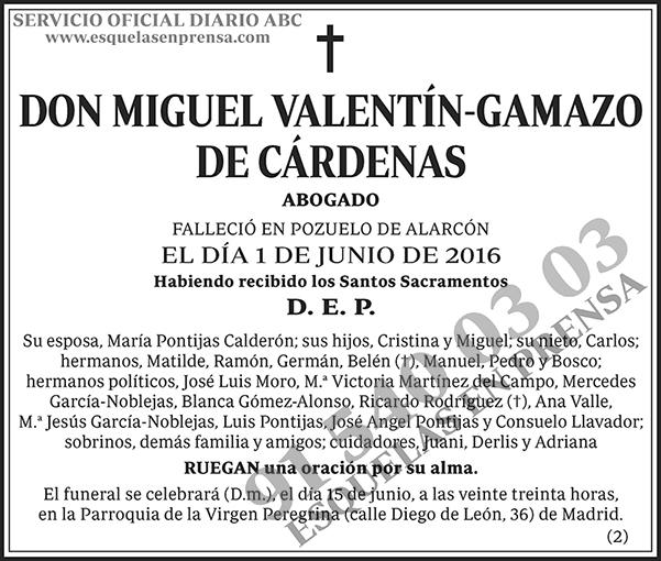 Miguel Valentín-Gamazo de Cárdenas